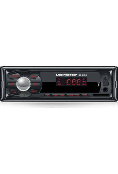 Goldmaster / Digimaster SD-2105 Uzaktan Kumandalı - MP3 Özellikli Oto Teyp