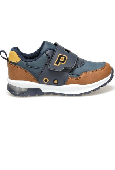 Yellow Kids Pablo Lacivert Erkek Çocuk Ayakkabı