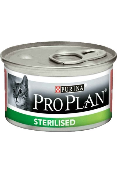 Proplan Sterilised Ton Ve Somonlu Kısırlaştırılmış Kedi Konserve 85 Gr