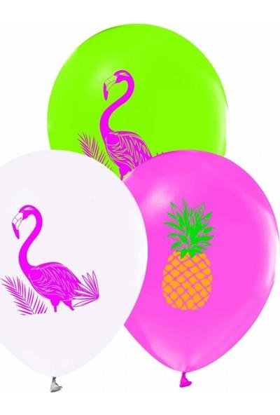 Cakes & Party Flamingo Karışık Renk 25 Adet