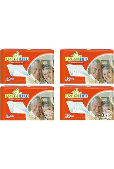 Freshlife 60X90 Cm Yatak Koruyucu Örtü 4 Paket 120 Adet