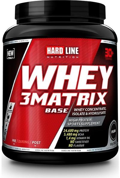 Hardline Nutrition Whey 3 Matrix Base Protein Tozu 908 Gr Sade
