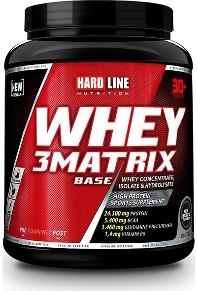 Hardline Nutrition Whey 3 Matrix Base Protein Tozu 908 Gr Çikolata
