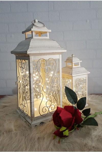 Evim Tatlı Evim Dekoratif Çok Amaçlı Flaşörlü Sarı Led Işık 3 Metre