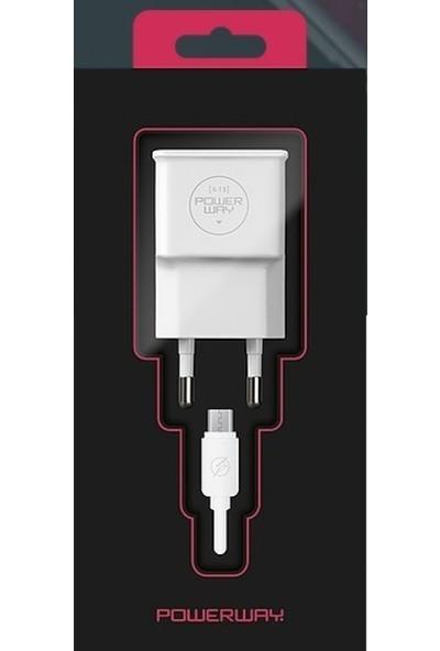 Powerway X-13 Micro USB Şarj Aleti Seti