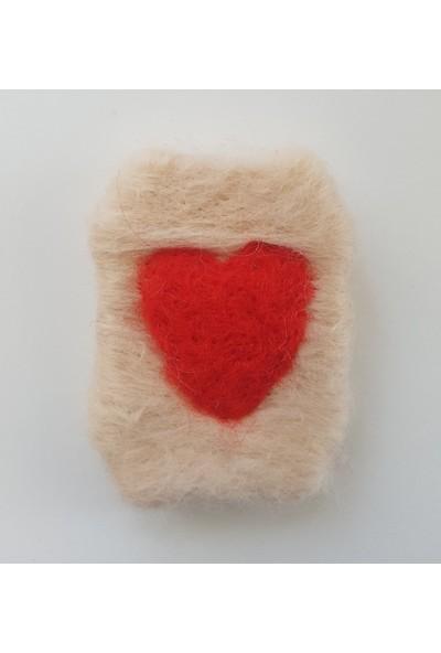 Kariang Yün Keçeli Kalp Işlemeli Dolap Kokusu