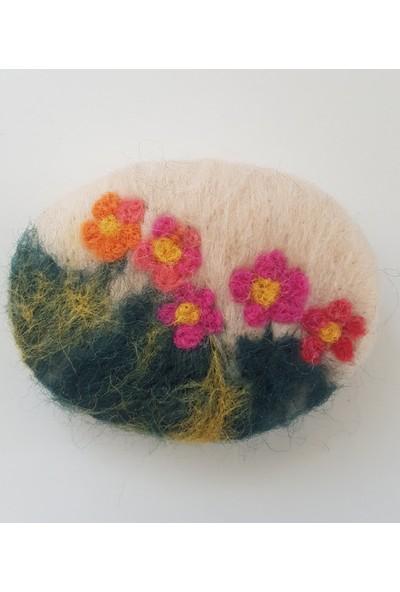 Kariang Yün Keçeli Doğal Sabun Kır Çiçekleri Dolap Kokusu