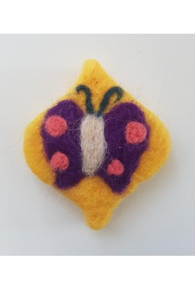 Kariang Yün Keçeli Kelebek Işlemeli Oda ve Dolap Kokusu