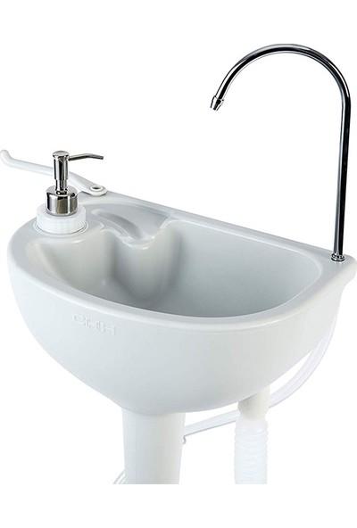 Porvaletti Portatif Lavabo, 17L Temiz Su Tanklı