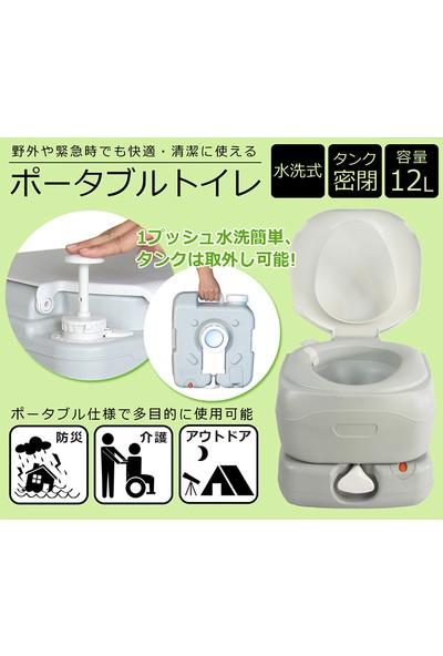 Porvaletti 4412T Lüks Portatif Tuvalet 12 Litre