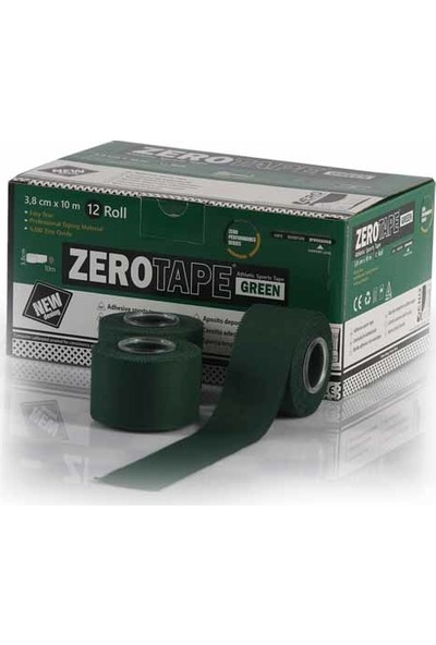 Zerosportsmed Tape White 3,8Cm X 10M