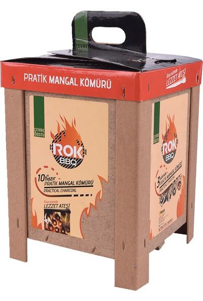 Rok Bbq Çıra Kafesli Mangal Kömürü 2 Kg