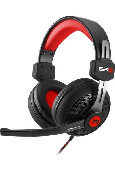 Sharkoon Rush Er2 Kırmızı Mikrofonlu Gaming Kulaklık