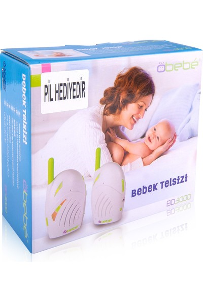 Obebe BD-3000 Bebek Telsizi