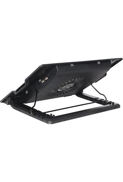 TriLine Işıklı Notebook Soğutucu Fan 5 Kademeli Stand NB339