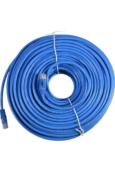TriLine Cat6 Patch Kablo Fabrikasyon - Mavi - 30 mt