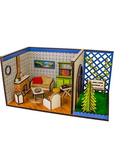 Hande's House Oyun Odası Salon Dıy