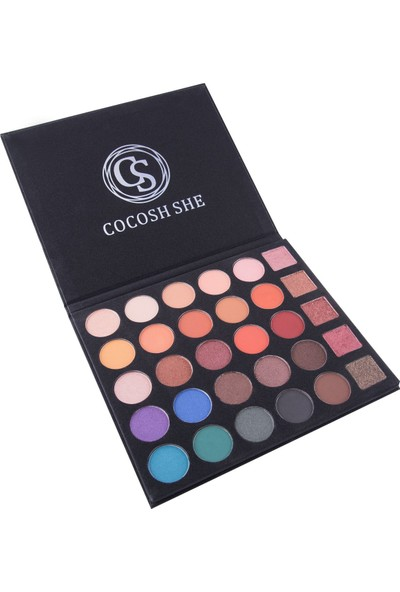 Cocosh She Excellent Far Paleti 30 Color Eyeshadow Palette