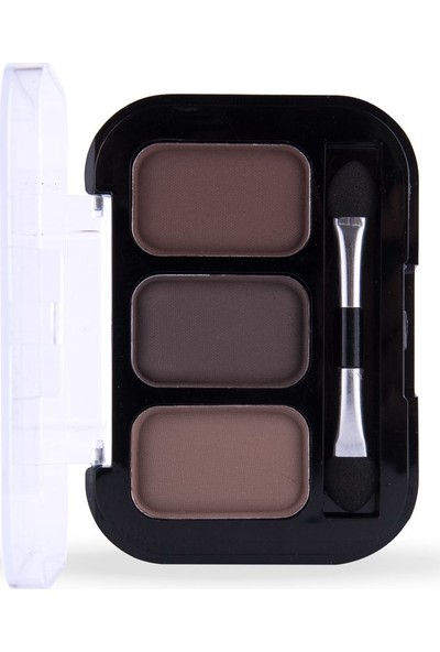Cocosh She Eyebrow High-Brow True Color Kaş 3'lü Far 02 Medium