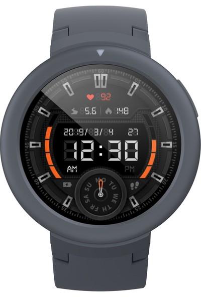 Xiaomi Amazfit Verge Lite Bluetooth Nabız GPS Akıllı Saat - Global Versiyon - Siyah - Distribütör Garantili