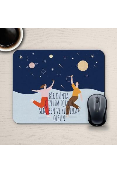 E-Hediyeci Özel Tasarım Romantik Mousepad - No31