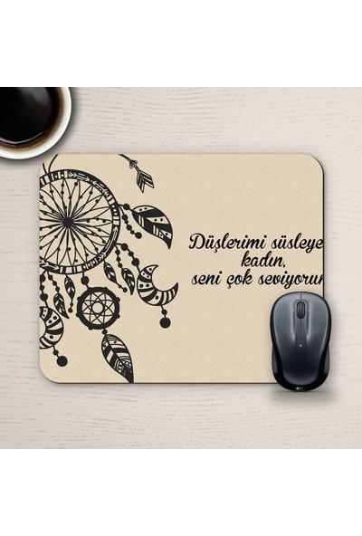 E-Hediyeci Özel Tasarım Romantik Mousepad - No29