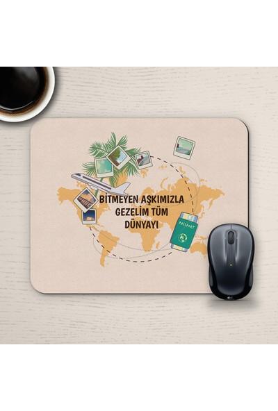 E-Hediyeci Özel Tasarım Romantik Mousepad - No28