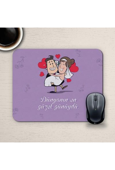 E-Hediyeci Özel Tasarım Romantik Mousepad - No21
