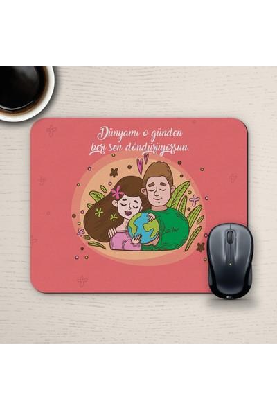 E-Hediyeci Özel Tasarım Romantik Mousepad - No12