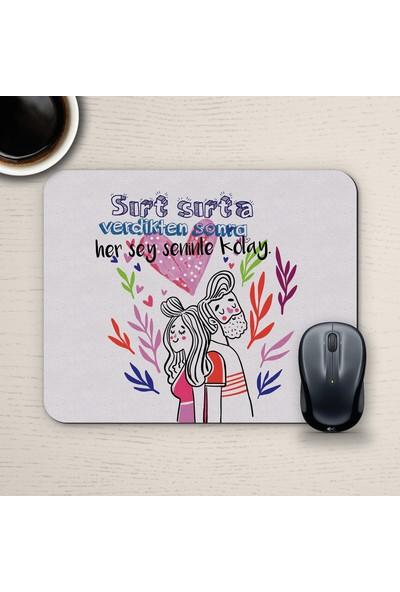 E-Hediyeci Özel Tasarım Romantik Mousepad - No11