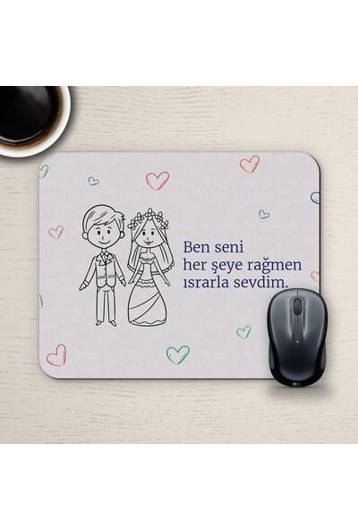 E-Hediyeci Özel Tasarım Romantik Mousepad - No10
