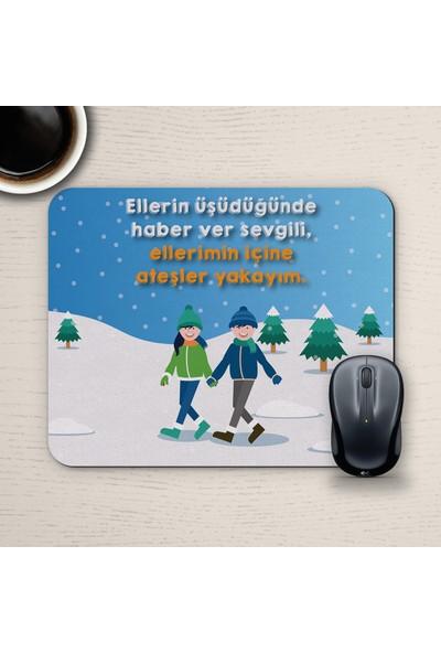E-Hediyeci Özel Tasarım Romantik Mousepad - No3