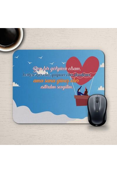 E-Hediyeci Özel Tasarım Romantik Mousepad - No2