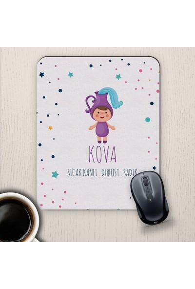 E-Hediyeci Kova Burçlarına Özel Sevimli Mouse Pad