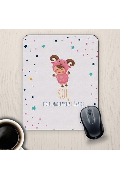 E-Hediyeci Koç Burçlarına Özel Sevimli Mouse Pad