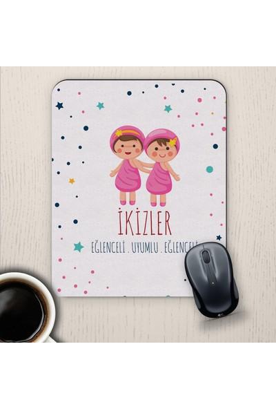 E-Hediyeci İkizler Burçlarına Özel Sevimli Mouse Pad