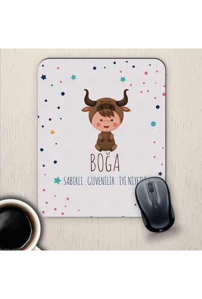 E-Hediyeci Boğa Burçlarına Özel Sevimli Mouse Pad