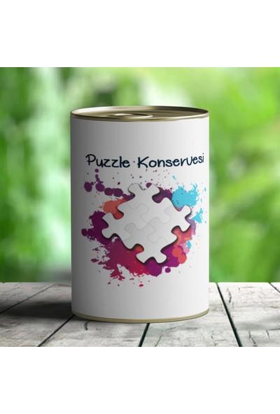 E-Hediyeci I Love You Puzzle Konservesi