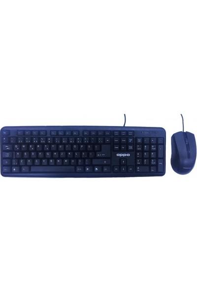 Appa KB-190 USB Kablolu Klavye ve Mouse Seti