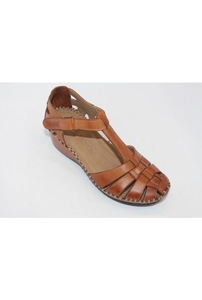 Venüs Kadın Taba Sandalet Ayakkabı 18791382 - Taba - 40