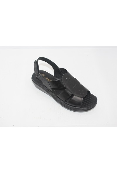 Venüs Kadın Sandalet Ayakkabı 1894028 - Siyah - 39