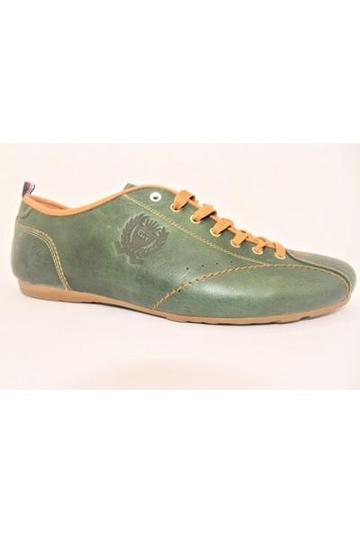 Greyder Yeşil Erkek Casual Ayakkabı 2361 - Yeşil - 45