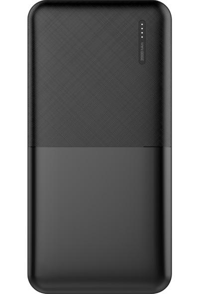 Dexim DCA0022 20000 Mah Taşınabilir Şarj Cihazı Powerbank Siyah
