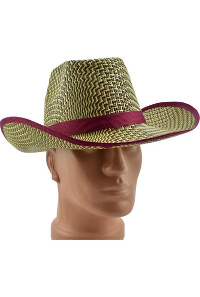 Esrenkli Fötr Kovboy Şapkası