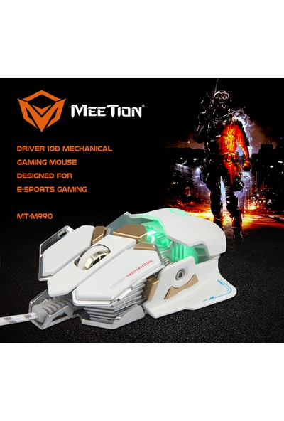 Meetion M990 Mechanical Oyuncu Mouse
