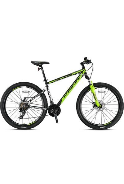 Kron XC100 27,5 Jant Mekanik Disk Fren 18 Inch Kadro Siyah Yeşil 2019 Model