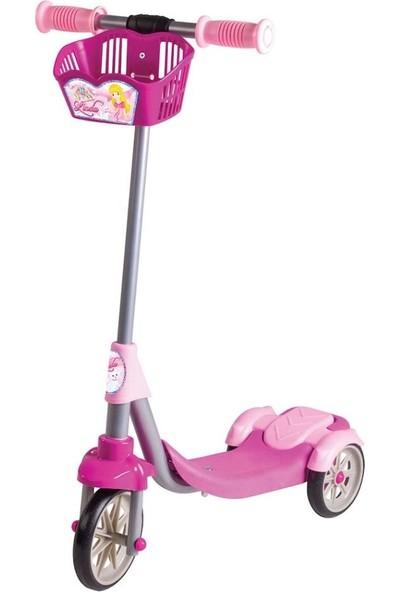 Furkan Toys Linda 3 Tekerli Frenli Sepetli Scooter