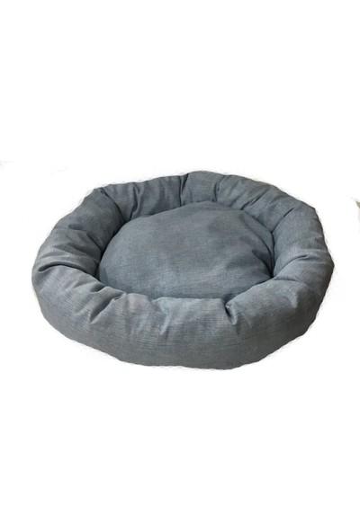 Woddy Pofuduk Simit Kedi ve Köpek Yatağı 50 cm