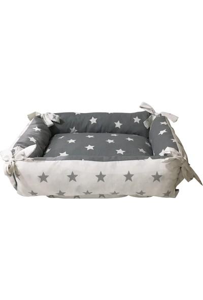 Woddy Çi̇ft Fonksi̇yonlu Pofuduk Kedi̇ Yatağı