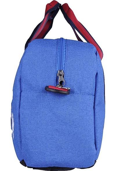 U.S. Polo Assn. Seyahat Çantası Büyük Boy Mavi 6985